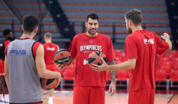 Εκλεισε στην ΕΡΤ ο Ολυμπιακός στο μπάσκετ -Πρεμιέρα με την ΑΕΚ