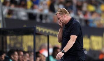 Αιχμές Sport για Κούμαν: «Οι παίκτες της Μπαρτσελόνα έμαθαν το σύστημα σχεδόν στην φυσούνα»
