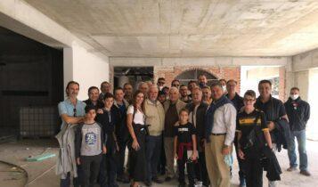 ΑΕΚ: Ξενάγηση των γιατρών του «Υγεία» στην «OPAP Arena» παρουσία Μελισσανίδη
