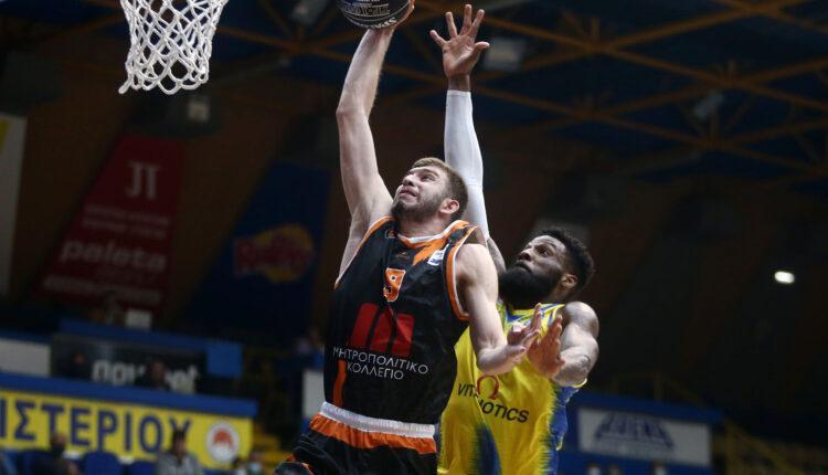 Basket League: Πέρασε από το Περιστέρι ο Προμηθέας με 81-88 (VIDEO)