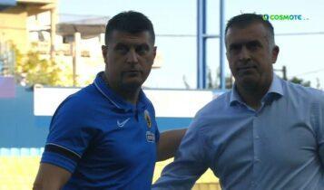 Παναιτωλικός-ΑΕΚ: Η αγκαλιά Μιλόγεβιτς-Αναστασίου στο τέλος του ματς (VIDEO)