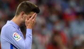 Πικέ: «Και τρεις ώρες να παίζαμε, γκολ δεν βάζαμε»