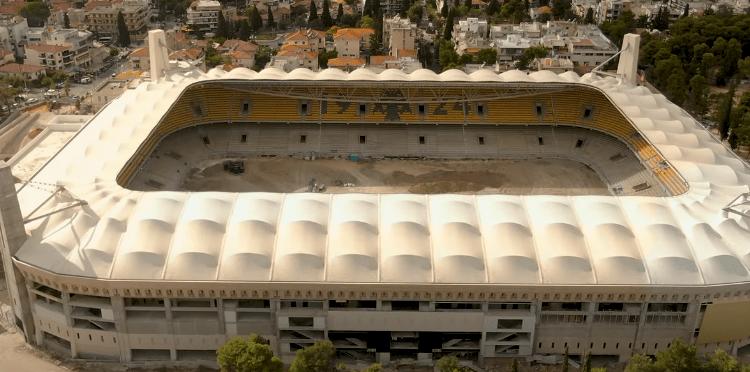 «OPAP Arena»: Οι εξέδρες «κιτρινίζουν» και ο Ναός ομορφαίνει! (VIDEO)