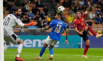 Nations League: Νίκησε την Ιταλία στο Μιλάνο (1-2) η Ισπανία και προκρίθηκε στον τελικό (VIDEO)