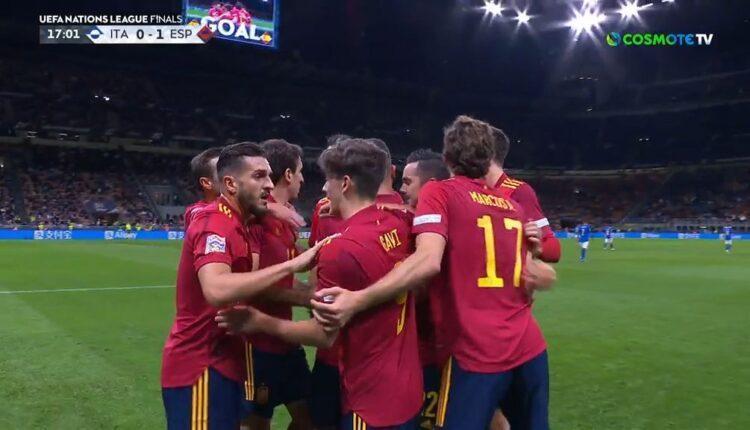 Ιταλία-Ισπανία: Καταπληκτικό γκολ του Τόρες και 0-1 (VIDEO)