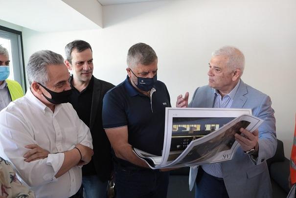Μελισσανίδης σε Πατούλη: «Αποδεικνύετε ξανά έμπρακτα το προσωπικό σας ενδιαφέρον για να ξεπεραστούν όλα τα προβλήματα για το μεγάλο έργο της OPAP Arena»