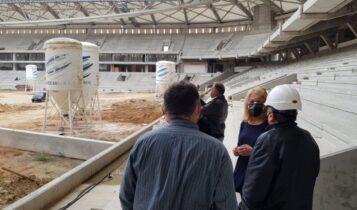 Η Ρένα Δούρου για το γήπεδο της ΑΕΚ: «Το Υπουργείο Ανάπτυξης, ο Πατούλης, τα έργα που διαλύονται και ένα γήπεδο στον αέρα»