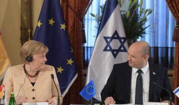 Στο Ισραήλ η Άνγκελα Μέρκελ (VIDEO)
