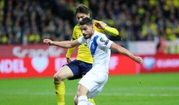 «Κατέρρευσε» στο β' ημίχρονο η άτυχη Εθνική και έχασε 2-0 από την Σουηδία (VIDEO)