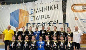 ΑΕΚ: Χρυσό μετάλλιο για την γυναικεία ομάδα χάντμπολ!