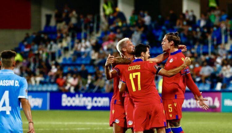 Εγραψε ιστορία η Ανδόρρα: Πρώτη εκτός έδρας νίκη σε επίσημο ματς και πρώτη φορά δυο νίκες σε προκριματικά!