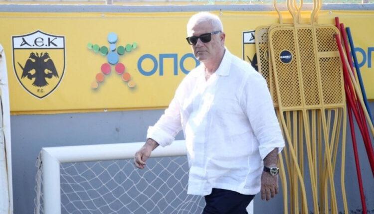 Μελισσανίδης στους παίκτες της ΑΕΚ: «Προπονητής τριετίας ο Γιαννίκης!»