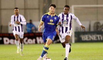 Σημαντική νίκη για Αστέρα Τρίπολης (0-1) στην Ριζούπολη απέναντι στον Απόλλωνα Σμύρνης (VIDEO)