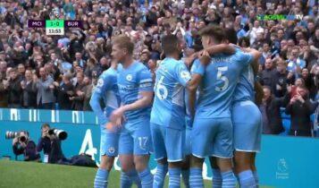 Μάντσεστερ Σίτι-Μπέρνλι: Ο Σίλβα για το 1-0 (VIDEO)