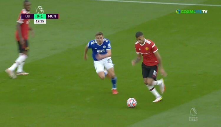Λέστερ-Μάντσεστερ Γιουνάιτεντ: Απίθανη γκολάρα Γκρίνγουντ για το 0-1! (VIDEO)