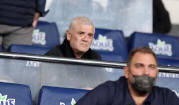 Μελισσανίδης: Κατέβηκε στα αποδυτήρια - Μοίρασε συγχαρητήρια στους παίκτες της ΑΕΚ