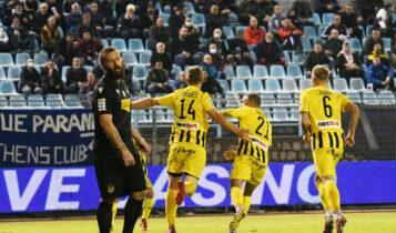 Ο Αρης κέρδισε δύσκολα (0-1) τη Λαμία των δέκα παικτών