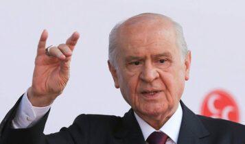 Ακραίες δηλώσεις Μπαχτσελί: «Η Ελλάδα είναι εισβολέας» (VIDEO)