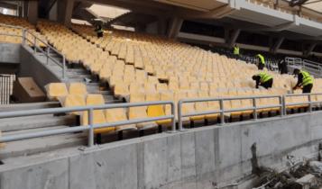 «ΟPAP Arena»: Ο Ναός... ντύνεται και ομορφαίνει-Καθίσματα και στο κάτω διάζωμα! (VIDEO)