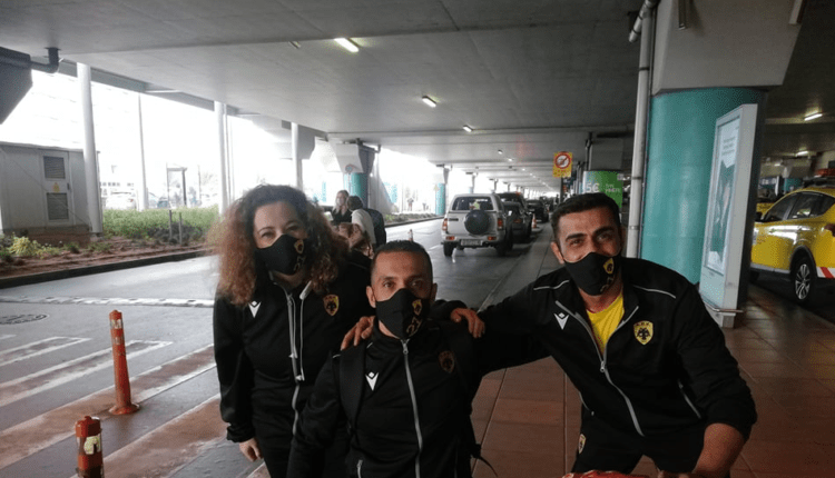 ΑΕΚ: Ο Φαντί Αλντίπ στην ομάδα μπάσκετ με αμαξίδιο! (ΦΩΤΟ)