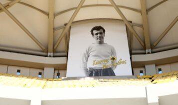 ΑΕΚ: Ο τεράστιος Νεστορίδης πήρε θέση στην «OPAP Arena»! (ΦΩΤΟ)