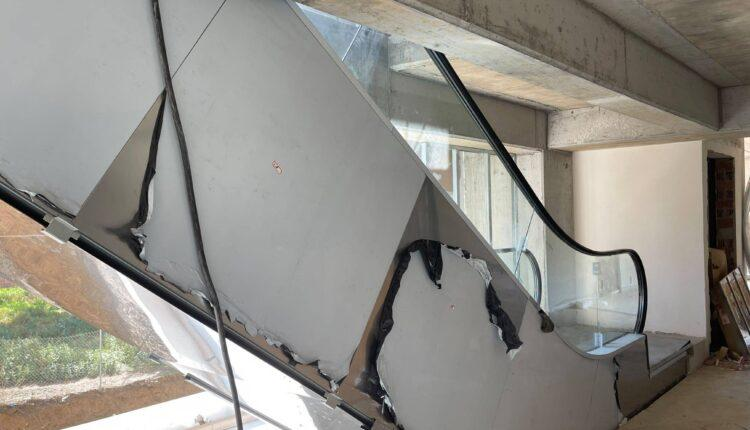 «OPAP Arena»: Ετοιμες οι κυλιόμενες σκάλες και τα ασανσέρ στην πλευρά της παλιάς Θύρας 3 (ΦΩΤΟ)