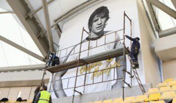 Μαγικές εικόνες από την «OPAP Arena»: Και ο Μαύρος στο γήπεδο της ΑΕΚ