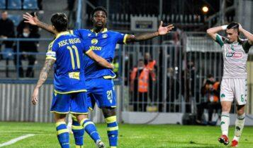 Super League: Ανύπαρκτος εκτός έδρας ο Παναθηναϊκός έχασε (2-1) και από τον Αστέρα στην Τρίπολη