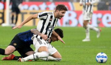 «Εκλεψε» στο τέλος τον βαθμό η Γιουβέντους, 1-1 με την Ιντερ στο Μιλάνο