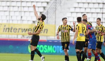 Βαθμολογία Super League: Η ΑΕΚ μόνη 2η, στο -1 από την κορυφή