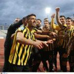 Ετσι ξεσήκωσε ο Γιαννίκης τα αποδυτήρια της ΑΕΚ στο Βόλο -«Δώστε μου ένα καλό πανηγυρισμό!»