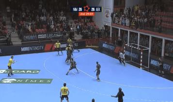 ΑΕΚ: Το γκολ του Πλάθα που «ξέρανε» τη Νιμ (VIDEO)