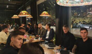 Με Μελισσανίδη το δείπνο του Σιμόες στην ΑΕΚ (ΦΩΤΟ)